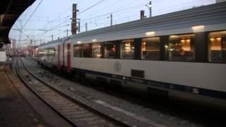 ベルギー国鉄 ブリュッセル南駅にて