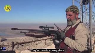 Интервью иракского снайпера, на счету которого 173 игиловца. Русские субтитры.