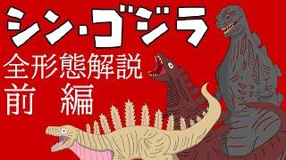 【解説・考察】シンゴジラ全形態解説・前編【怪獣島】