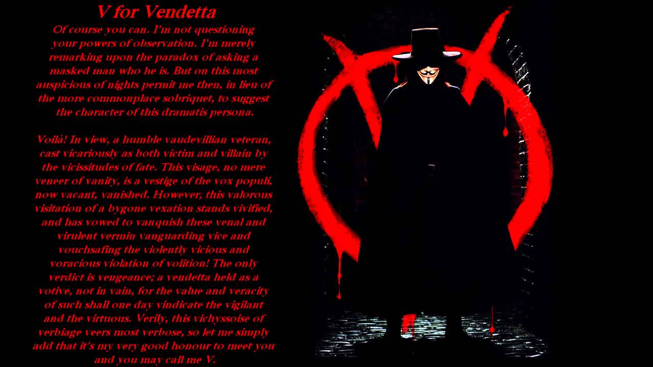 v for vendetta essay cal bar essays talon ink middot v for vendetta