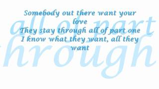James Fauntleroy - Love Part 2 Plus Lyrics