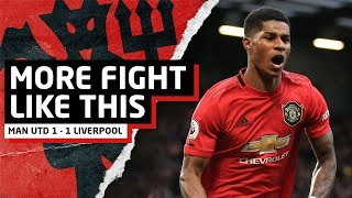 More Fight Like This! | Manchester United 1-1 Liverpool | United Review Video