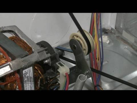 WhirlpoolKenmore Gas Dryer Belt Replacement 661570 YouTube