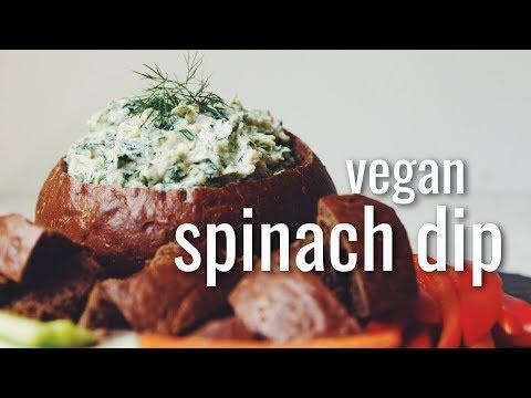vegan spinach dip | hot for food