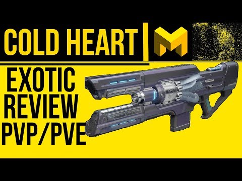 Great DPS Weapon - Cold Heart Exotic Review - Destiny 2