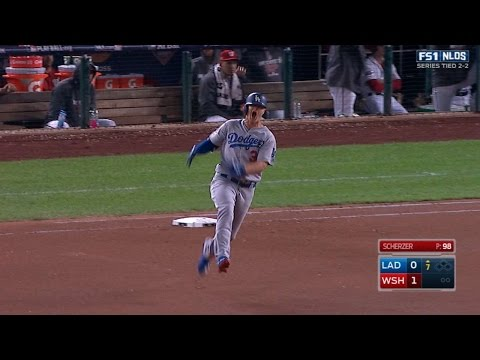 Pederson hammers a game-tying homer