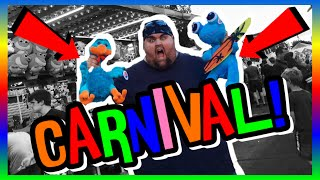 BEING A BOSS AT THE CARNIVAL! EPIC PRIZE WINS! (ClawBoss Carnival Skill Wins)