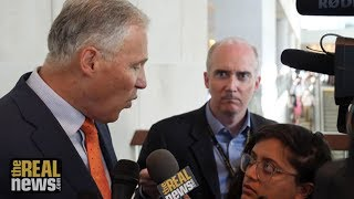 Would Jay Inslee Take on the Military to Fight Climate Change?