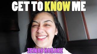 Get To Know Me Zeinab Harake *kalog*   First Vlog!!!