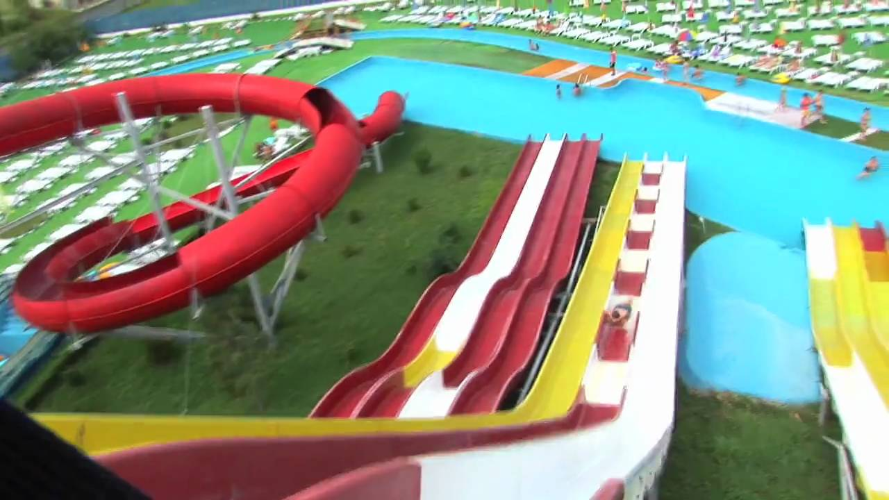 Distractie La Waterpark Bucuresti Otopeni Youtube