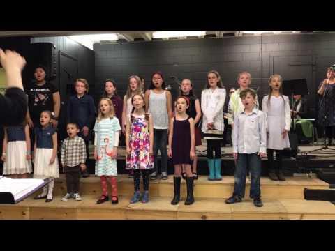 Scoff n Scuff Toronto 2017 - Common Thread Kids - Waving Flag