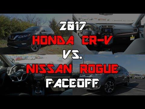 2017 Honda CR-V EX-L vs. 2017 Nissan Rogue SL: Faceoff Comparison
