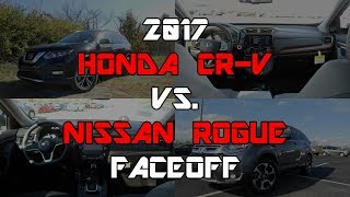 2017 Honda CR-V EX-L vs. 2017 Nissan Rogue SL: Faceoff Comparison