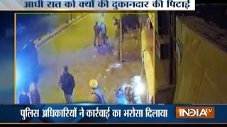 Cops Caught on Camera Brutally Beating Shop Owner in Punjab