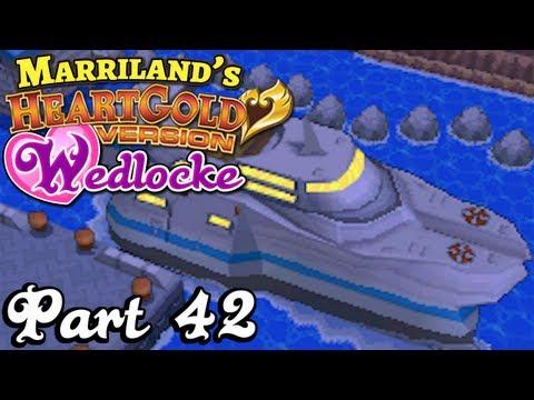 Pokemon HeartGold Wedlocke, Part 42: Honeymoon Cruise!