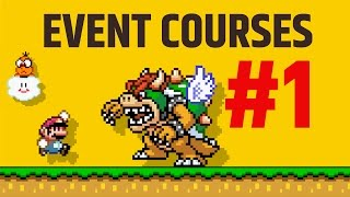 Super Mario Maker - Event Courses and Unlock Amiibo #1