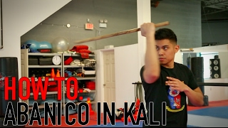 HOW TO DO AN ABANICO IN KALI | TECHNIQUE TUESDAY