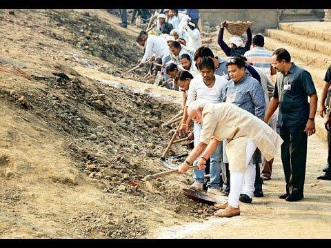 Big Banner    Ganga jal    Narendra Modi Plans For Ganga River Cleaning    07-07-2016