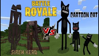 We have ourselves a battle royale when team siren head battles cartoon cat. find out which is the strongest!!! thanks to stickman욤틱맨 links other...