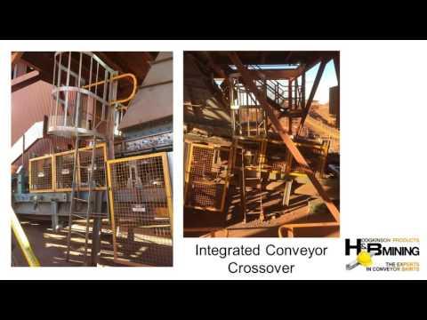 H & B Mining Streamline Conveyor Design - On Site