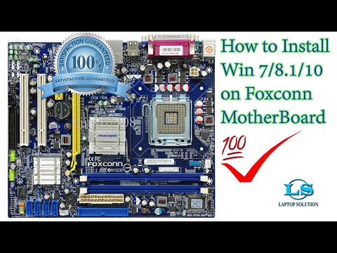 "How to install window-7 on ""Foxconn Motherboard G31"" full solution// laptop solution"