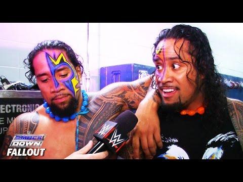 Die Usos über Ihr SmackDown-Comeback: SmackDown Fallout – 5. November 2015