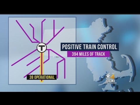 MBTA Plans To Have Positive Train Control Operational On Commuter Rail By 2020