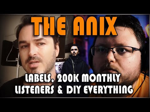 Record Labels, Merch & Brand Development with @The Anix