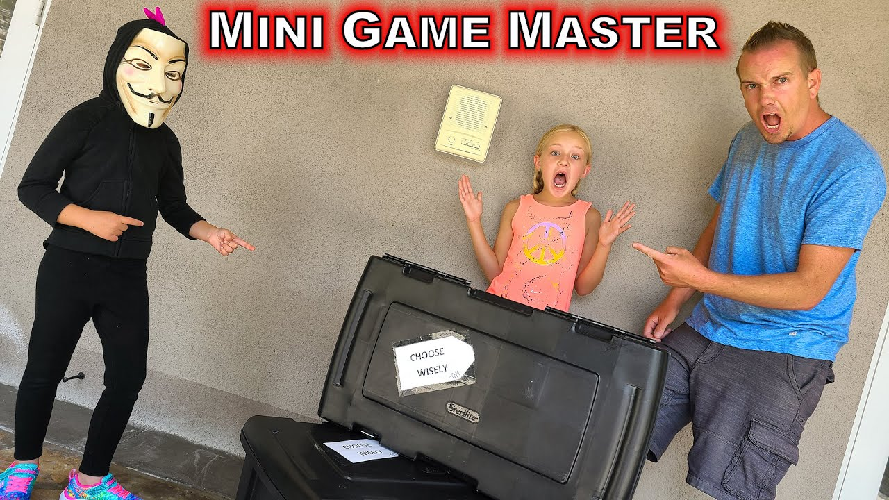 Mini Game Master Mystery Box Challenge!!! Sweet Shake Surprise Gone Horribly Wrong!