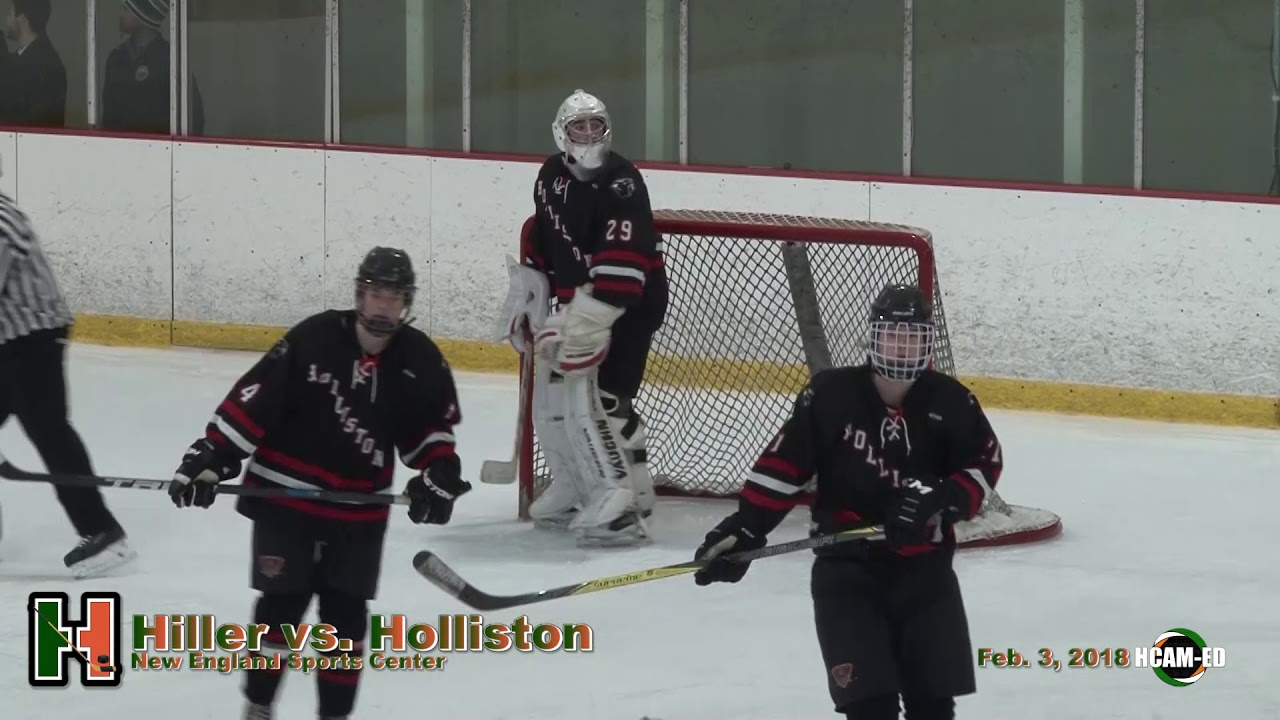 09f4dec1fa0 Hiller Varsity Hockey vs. Holliston - YouTube
