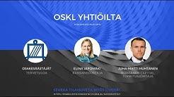 Yhtiöesittely Huhtanen Capital, vieraana puhumassa kansanedustaja Elina Lepomäki