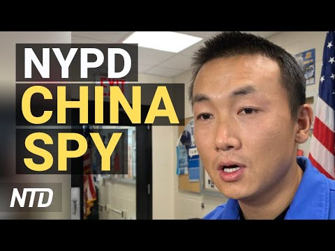NY officer is alleged China spy; Massive explosions in China's capital; Trump's Supreme Court list