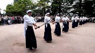 白虎隊士の霊に捧げる舞です。 This movie is traditional Japanes danc...