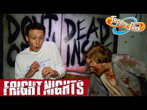 THORPE PARK FRIGHT NIGHTS 2017 | PRESS EVENT VLOG