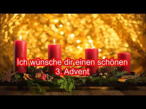 Adventsgüße Liebe Grüße zum 3. Advent Adventsgruß für dich Gruß zum 3. Advent