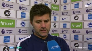 "Download Video Pochettino: ""Win was a relief but the goal we conceded was embarrassing."" 