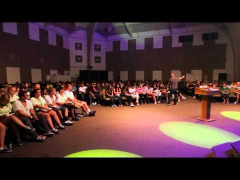 Youth camp in California, USA with Jarrod Davidoff & Foursquare Church