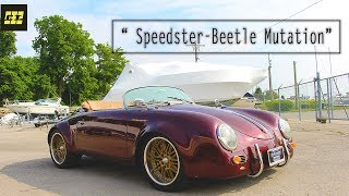 """Speedster-Beetle Mutation"" - 1955 Speedster 356 Replica With VW Beetle Engine"