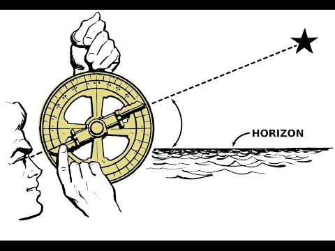 Look what massive sundials can do! An astrolabe can clock the motion of the earth. Moon dials