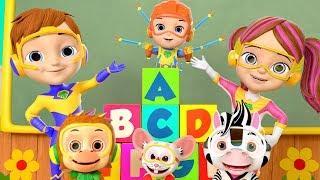ABC Alphabet Hunt - Little Tritans | Kids Learning Videos & Nursery Rhymes | Little Treehouse