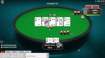 Let's Play Online Poker #4 Spin&Go Echtgeld 0,25 buy-in Pokerstars