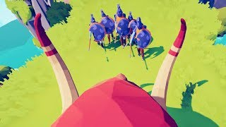 I Became A Mammoth In First Person And It Was Amazing In Totally Accurate Battle Simulator (TABS)