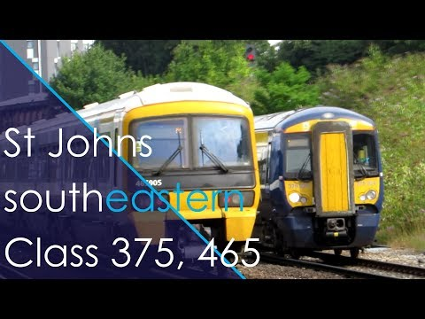 Trains at St Johns (Part 1)