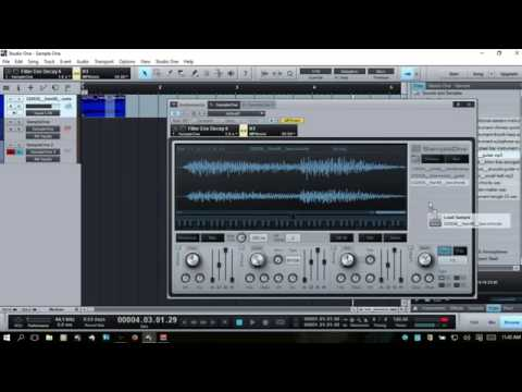 Learn Studio One  Using Sample One  Part I