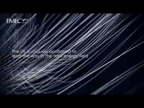 EMEC tidal test site animation