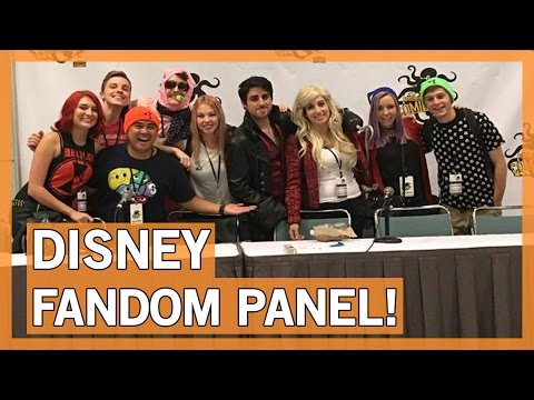 Disney Fandom Panel - Comikaze 2015 | Thingamavlogs