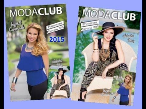 f07a84ee9f0 Catalogo Moda CLUB 2017 [moda primavera verano 2017] Ingrid Coronado ...