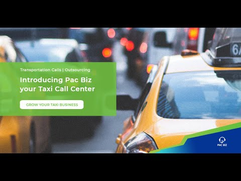 Introducing Pacific Business Services, your taxi call center