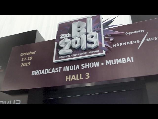 Broadcast India Show - Aputure Shoot