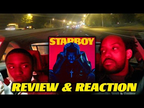 THE WEEKND - STARBOY ALBUM REVIEW, REAL REACTIONS & CAR CRUISING! (IS IT GOOD?)